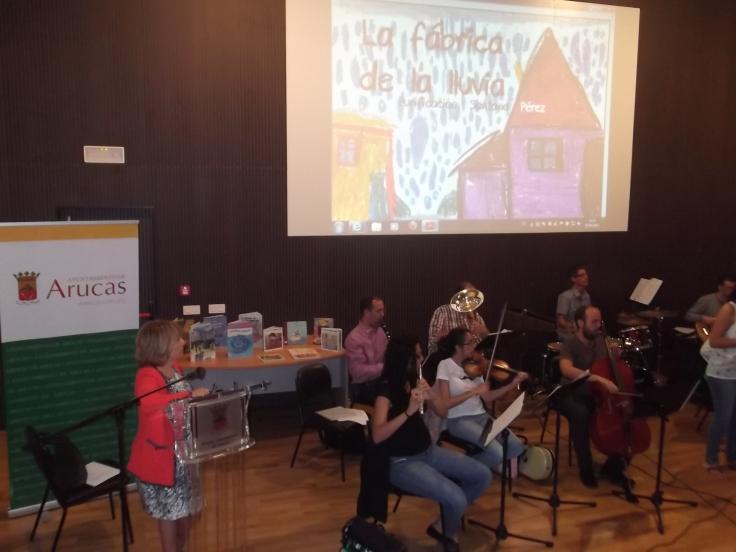 Presentation in Arucas