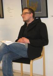 Heikki Lahnaoja from Pyhäjoki Municipal Library (Finland)