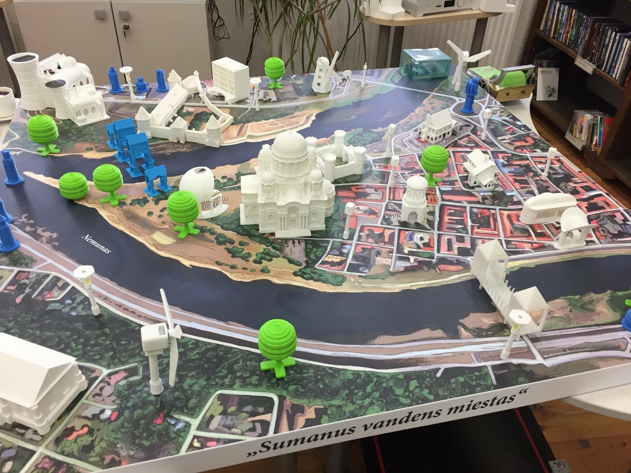 Discover Yourself in 3D City, a project from Kaunas Municipal